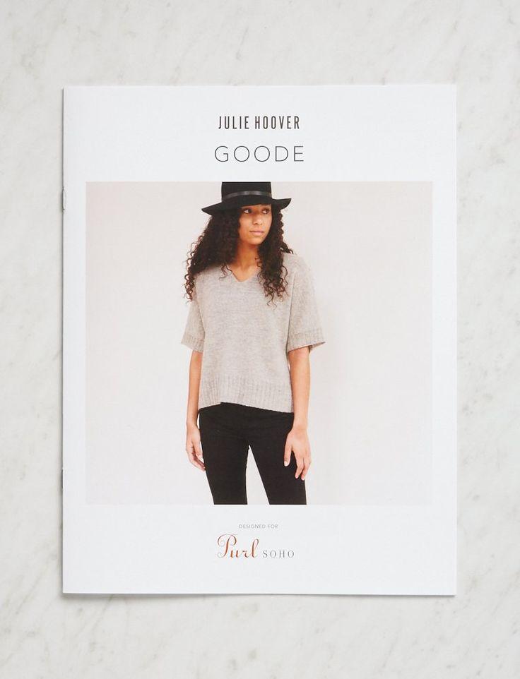 Julie Hoover for Purl Soho: Goode | Purl Soho