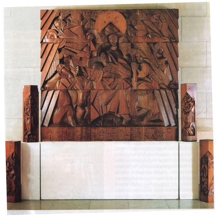 Madonna z Dzieciątkiem w otoczeniu aniołów, ołtarz z kaplicy Bożego Narodzenia