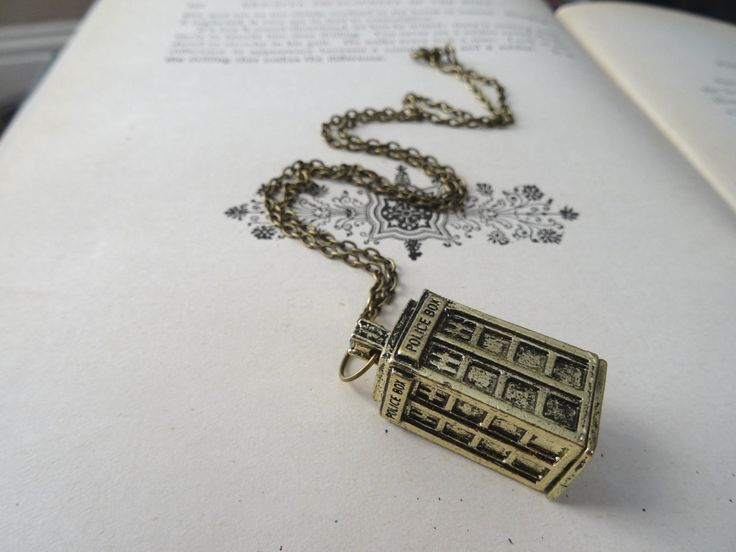 1- Dr Who Phone Booth Necklace 3D Tardis Police Box Time Travel Time Lord Pendant Television Show Jewelry Doctor Who Necklace Inv0027 by PeculiarCollective on Etsy