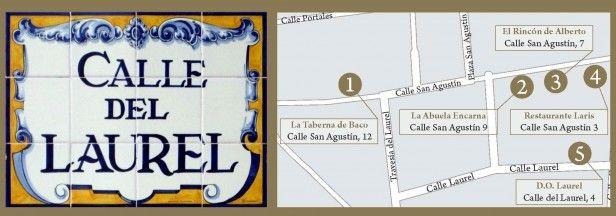 Calle Laurel, Logroño