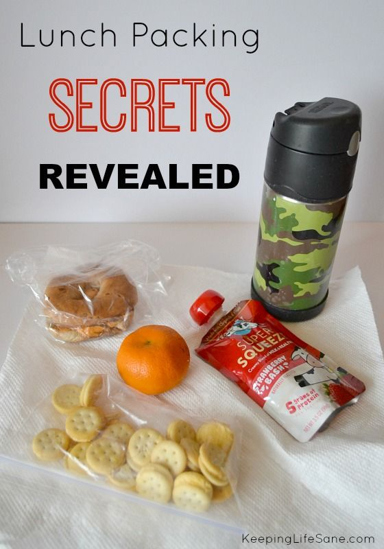 Are you struggling to get lunches packed in the morning?  Here are some great time savers.  Lunch Packing Secrets Revealed - Keeping Life Sane