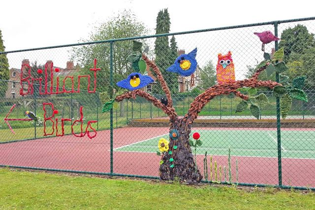 Hippystitch: Brilliant Birds Fly into Rowntree Park