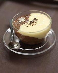 Mousse de Chocolate Blanco y Negro | Postres Nestl� | Nestl� Postres