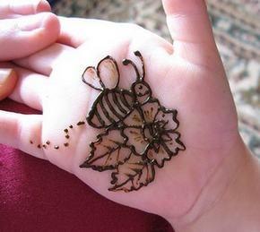 Henna Designs For Kids On Eid 2013