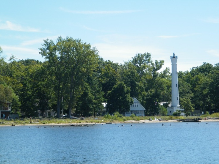 Verona Beach Lighthouse Here In New York State