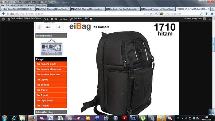 3 Tas Kamera DSLR Yang Bisa Bawa Laptop 15 INCH - TAS MURAH EIBAG BANDUNG