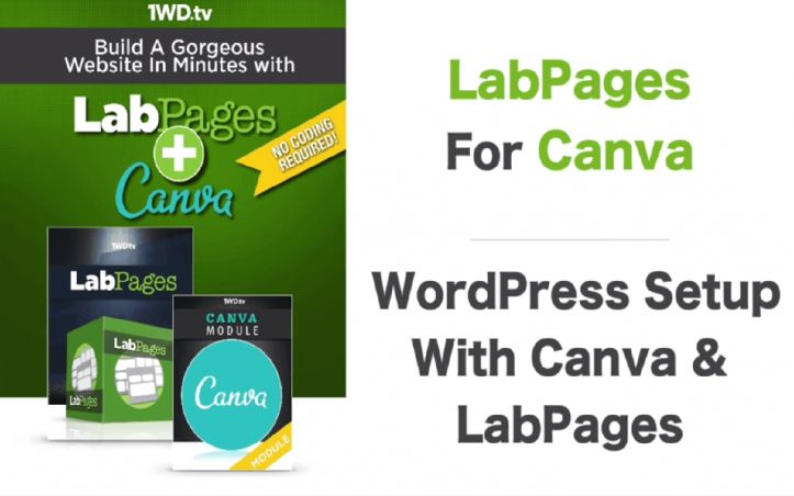 Setting up WordPress with Canva and LabPages