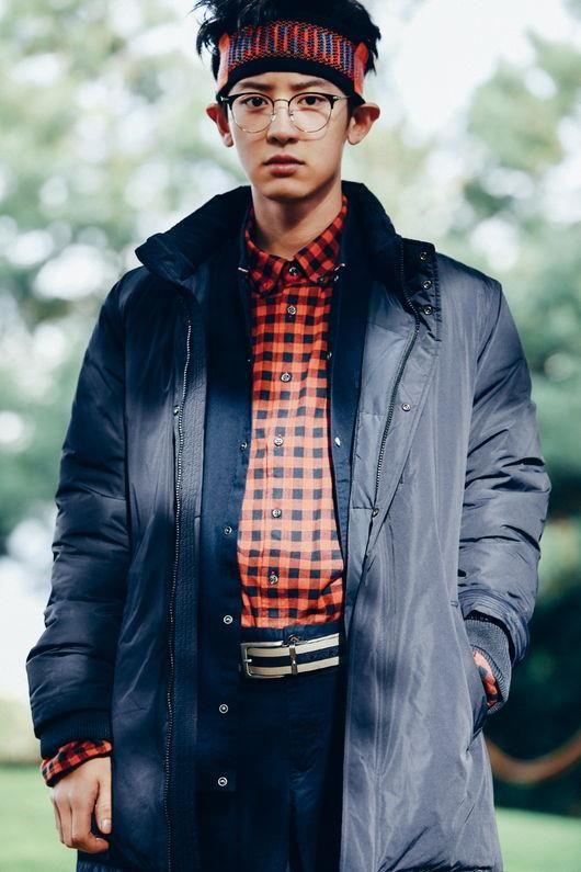 Tommy Hilfiger chanyeol, chanyeol Tommy Hilfiger photo, Tommy Hilfiger chanyeol model, chanyeol photoshoot 2017
