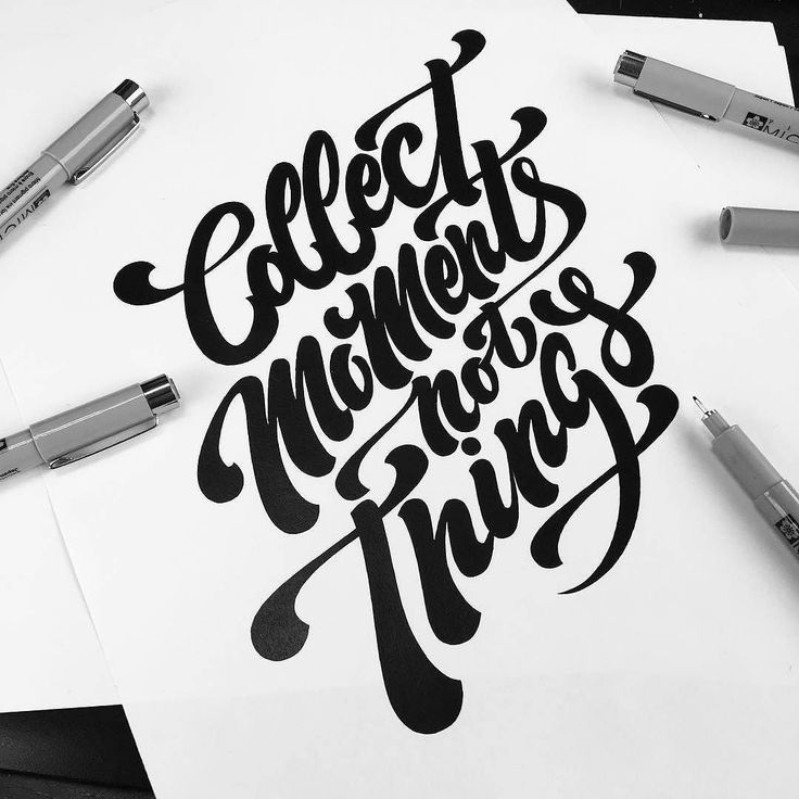 A good reminder for this time of year. Type by @stephanelopes - #typegang - free fonts at typegang.com | typegang.com #typegang #typography