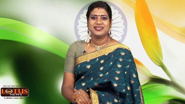 Padmini Prakash: India's first transgender news anchor