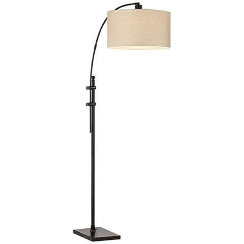 Kathy Ireland Spotlight Arc Floor Lamp - #1T943 | www.lampsplus.com