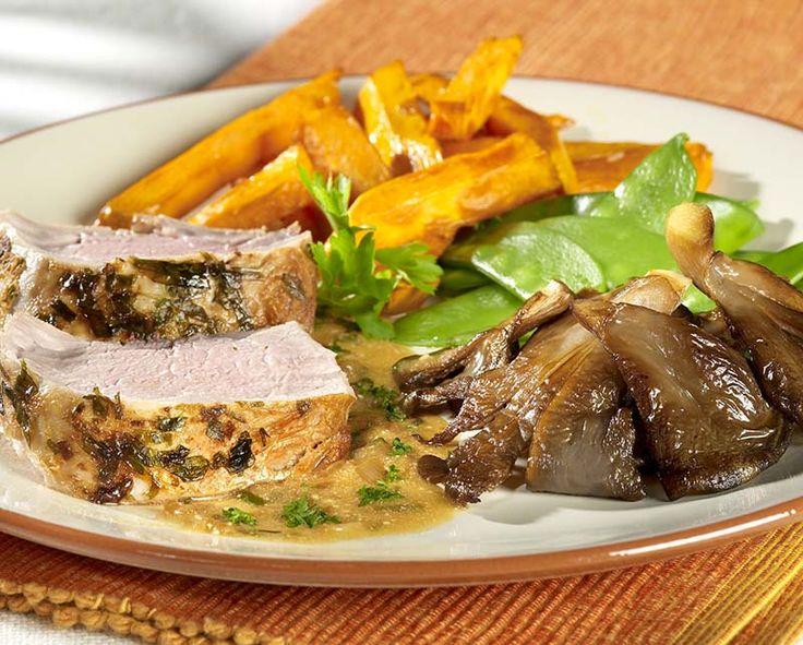 Filet pur de porc, sauce à l'estragon