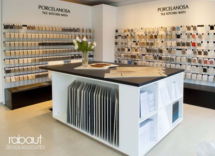 Porcelanosa Showroom by Rabaut Design Associates