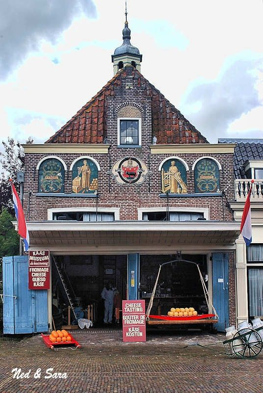Cheese shop Edam Holland - #Netherlands #travel