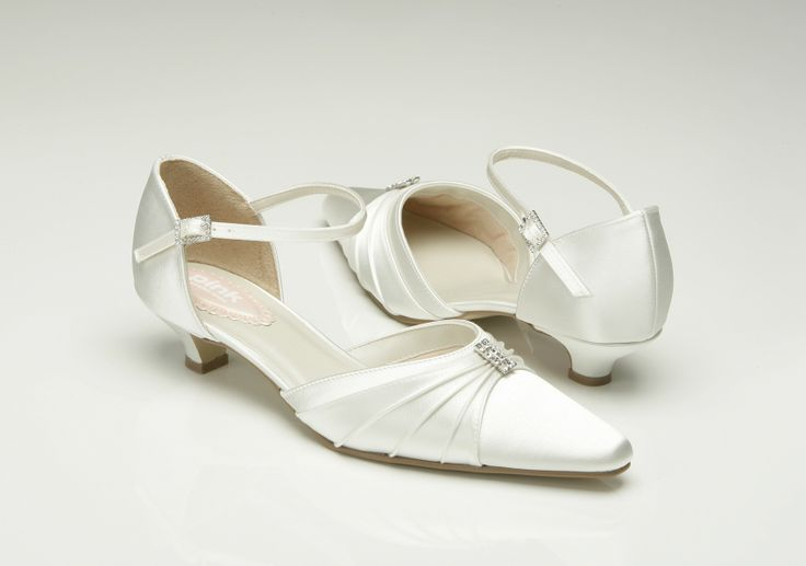Pink Wedding Shoes Low Heel: Paradox Pink Oyster Low Heel Wedding Shoes