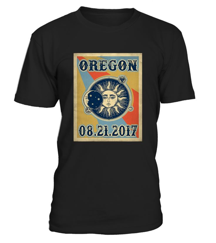 Vintage Oregon Eclipse 2017 Shirt, Retro Classic Oregon Eclipse 2017 Shirt, Oregon Eclipse 2017 Tshirt, Oregon Eclipse of the United States   Solar Eclipse 2017 shirt, Eclipse shirt, the United States total solar eclipse on 21 August 2017