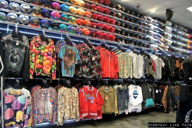 culture kings sydney tinie tempah shopping street wear menswear mens fashion snapbacks beanies crew necks tees hip hop urban street style