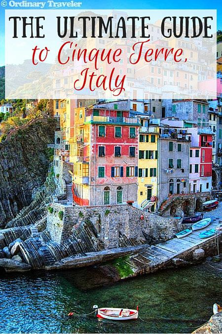 The Ultimate Guide to Cinque Terre, Italy - After spending time in Cinque Terre Italy, we've put together this comprehensive guide with tips on where to stay, where to eat, how to save money and more!
