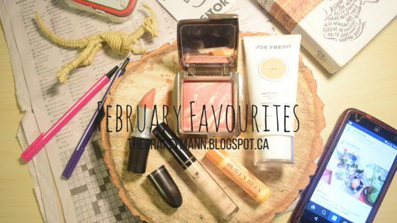 February Favourites - TheCraftyMann.Blogspot.ca