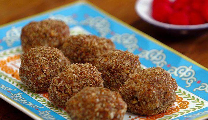 Chocolate Fruit Balls - Good Chef Bad Chef