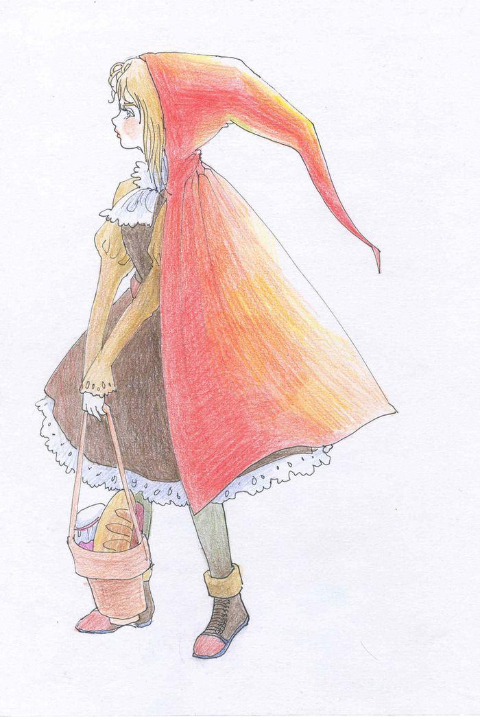 Красная шапочка  Mary Nikanorova