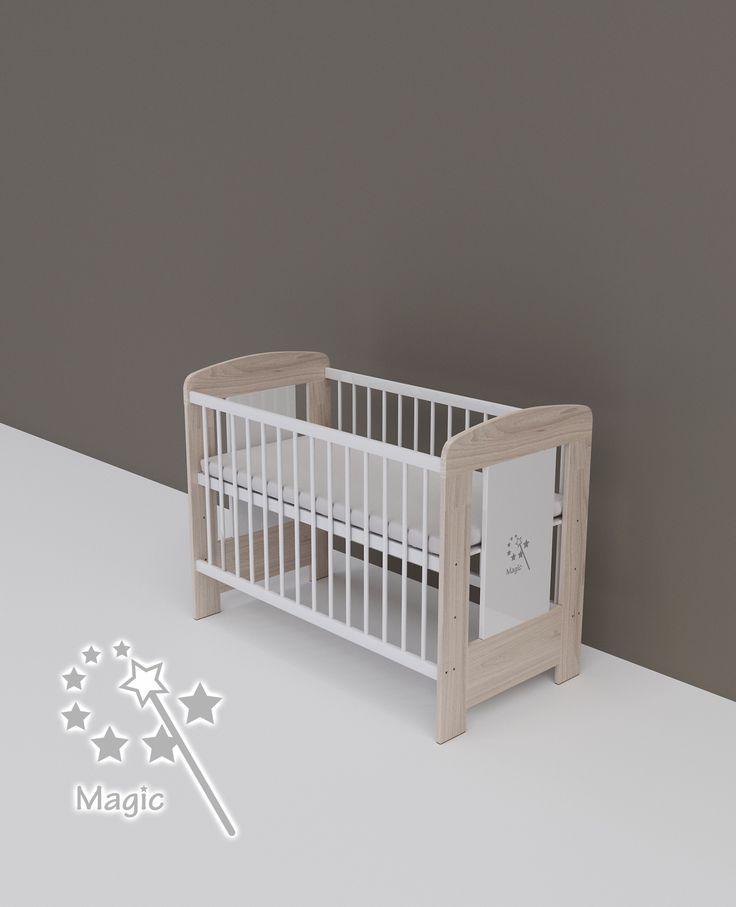 Magic - babaágy 60 x 120 cm-es - TODI Gyerekbútor  #babaágy