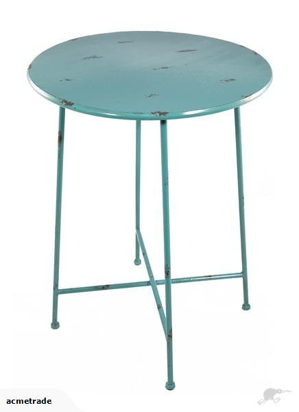 INDUSTRIAL SIDE TABLE SHABBY CHIC METAL | Trade Me
