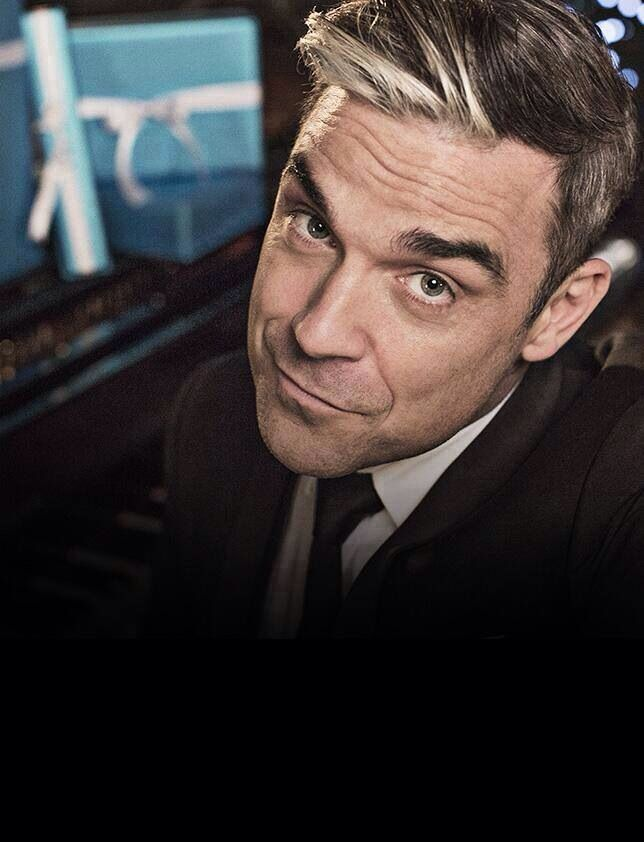 Robbie Williams--why must British men be so irresistible!