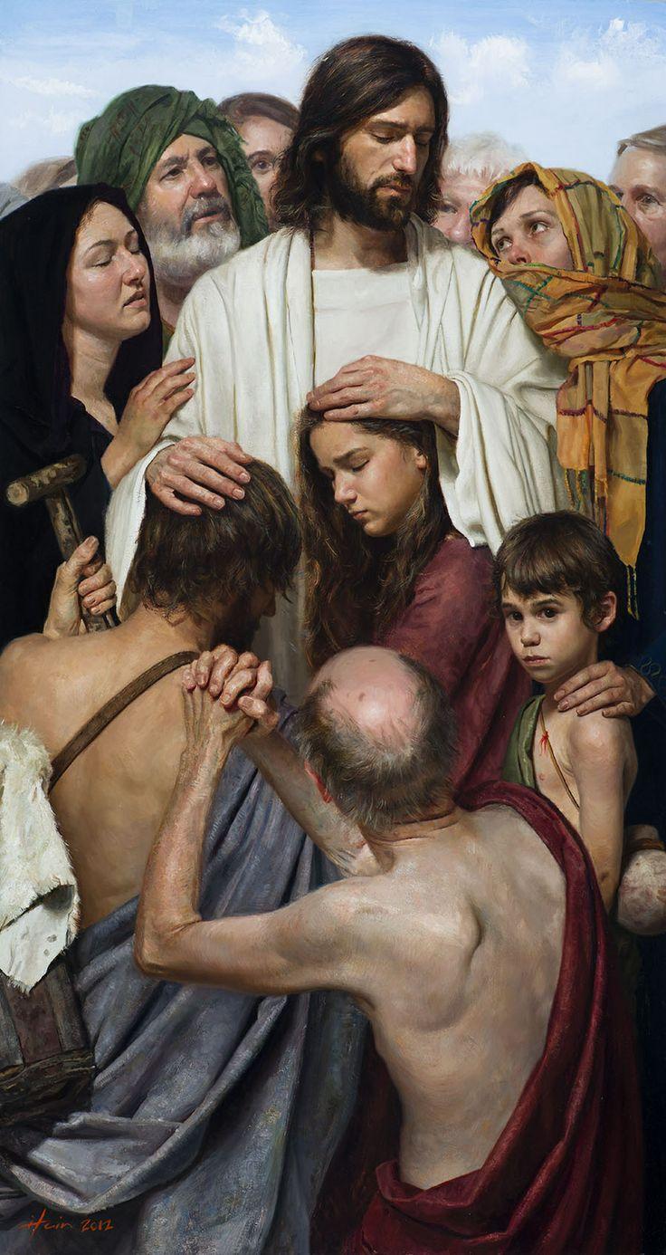 Jeff Hein's Portfolio - Painting- History/Scripture