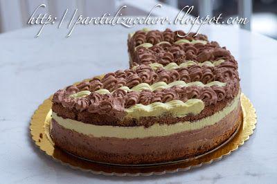 Pareti di Zucchero: Ode a Montersino 2: Torta cremosa chocolatine e pi...