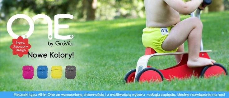 GroVia O.N.E. - new colors - banner