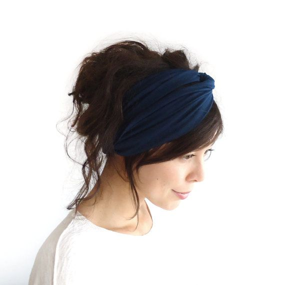 Hey, I found this really awesome Etsy listing at http://www.etsy.com/listing/112967643/turban-headband-midnight-blue