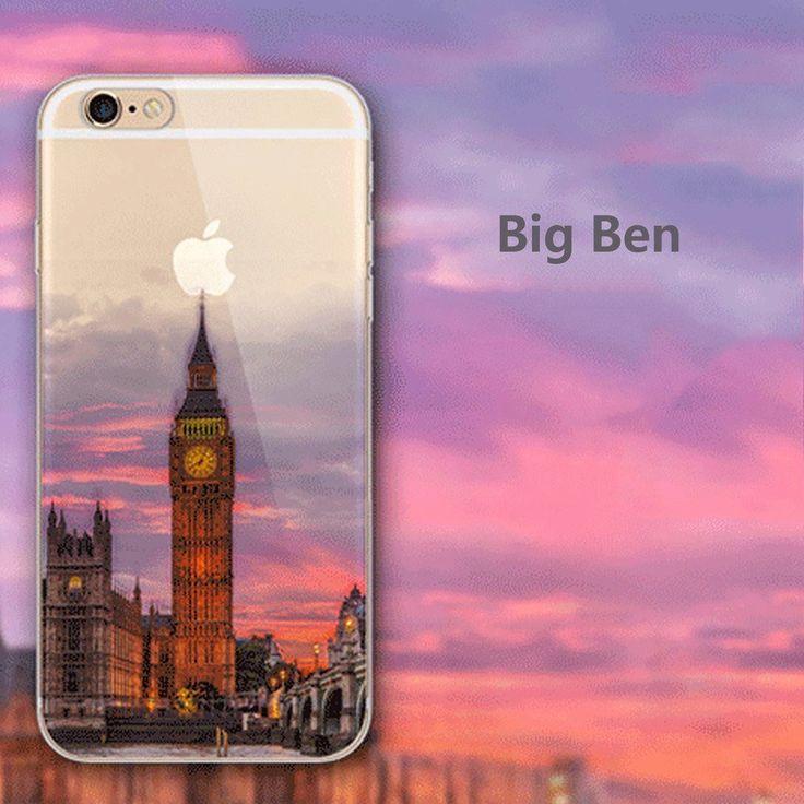 Amazon.com: iPhone 6/6s Plus Clear Case,Big Ben.Coupon REEHG2GM, money off $4.