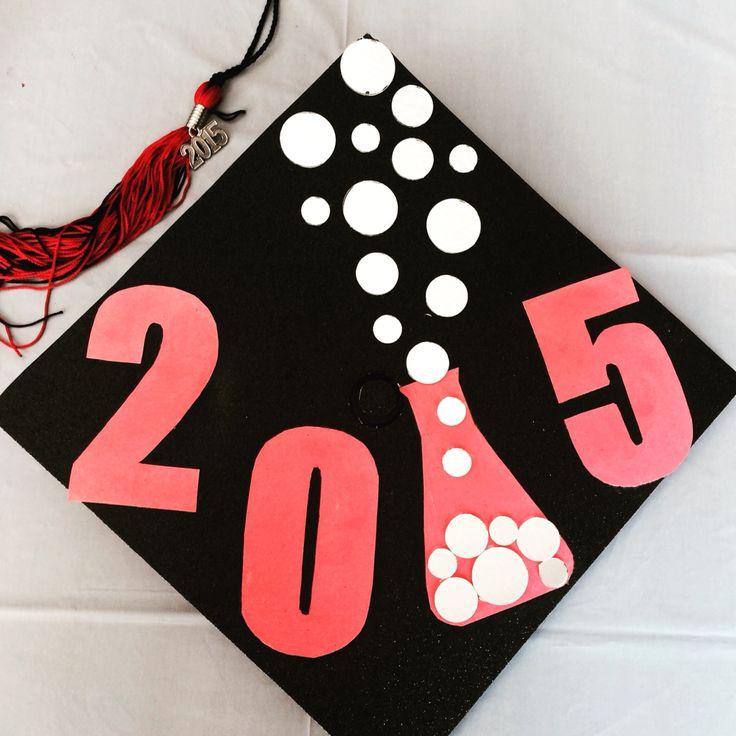 Chemistry / Nerd Graduate Cap Design