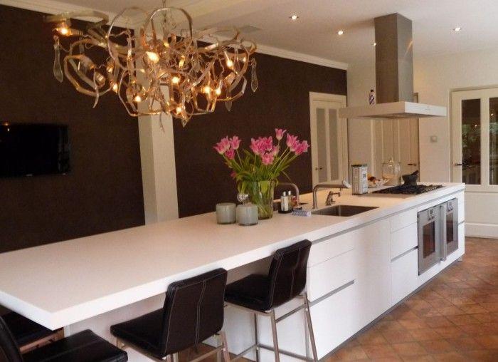 Smalle keuken kookeiland google zoeken keuken ideeen pinterest - Keuken met kookeiland table ...