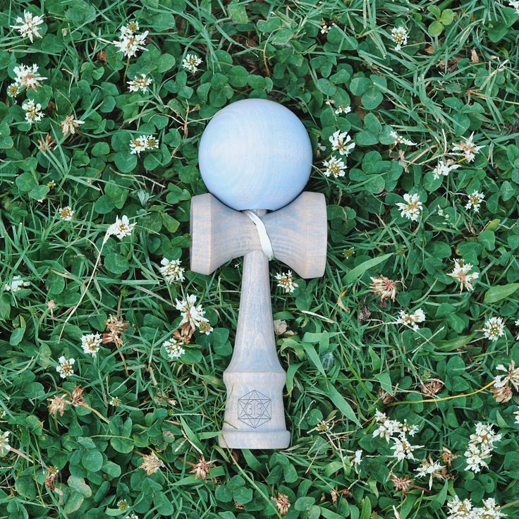 Granite Ken + Earl Grey Tama by Dogtown Kendama  #kendama #stain