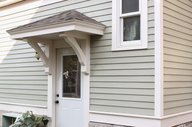 Bricks & Honey: Building the Back Door Overhang -- need to do this More