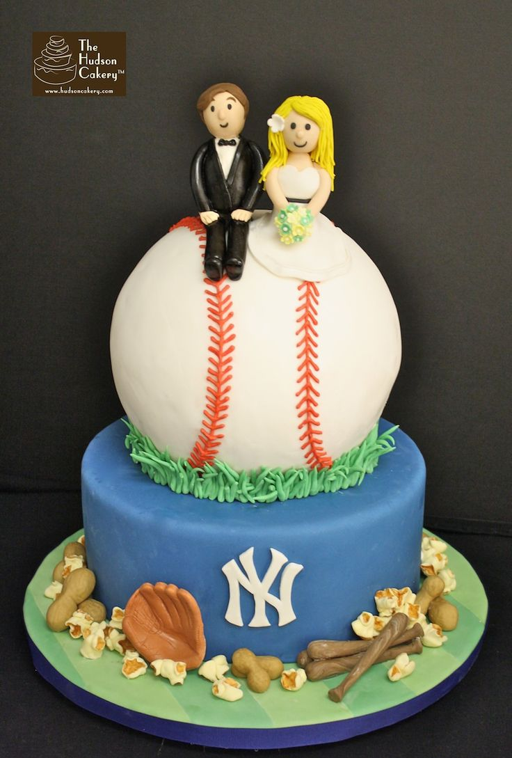 Cake Designs Jackie Brown Croydon : N.Y.Yankees Baseball Wedding Cake Creative Cakes ...