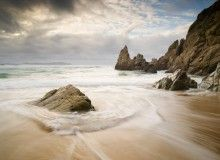 Fototapeta F3557 - Plaża w Galicji