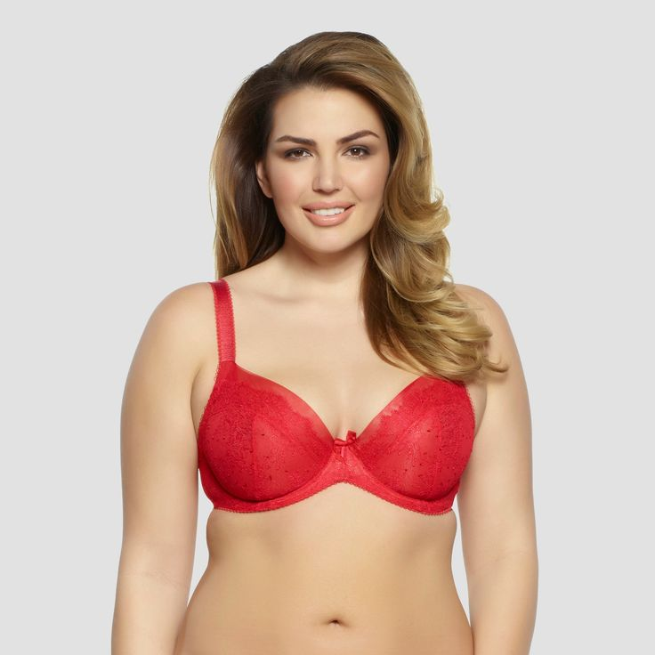 Paramour Women's Amber Unlined Bra Tango Red 40DDD