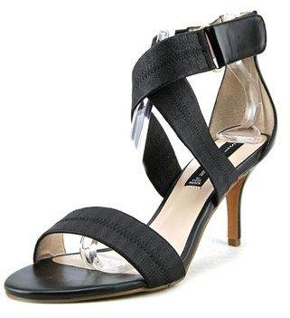 Steven Steve Madden Vaale Open-toe Leather Heels.