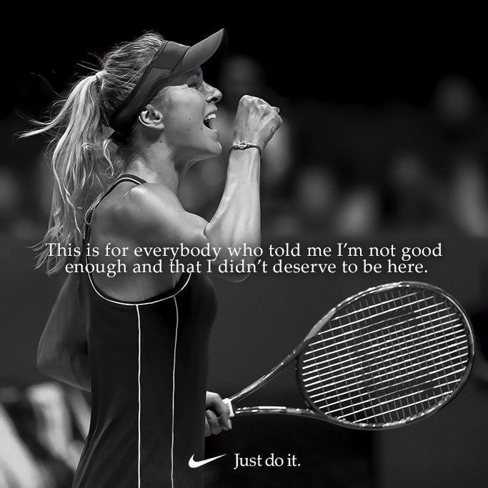 Elina Svitolina Tennis Quote Motivational Quotes Just Do It Female Tennis Outfit Wilson Tennis Racquet Save 70 Tennis Quotes Tennis Player Quote Tennis