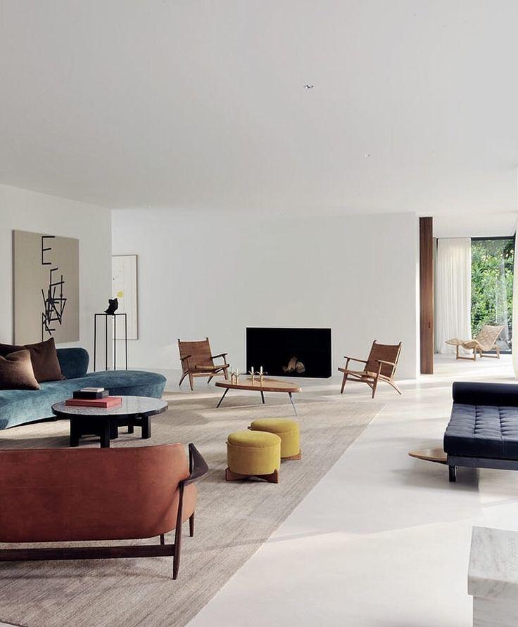 Design Interior Architecture Design Spacious Living Room House Interior Spacious modern living room interiors
