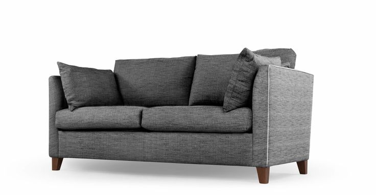 Bari, canapé-lit, gris graphite