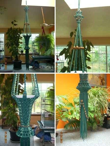 Hand Made Macrame Plant Hanger