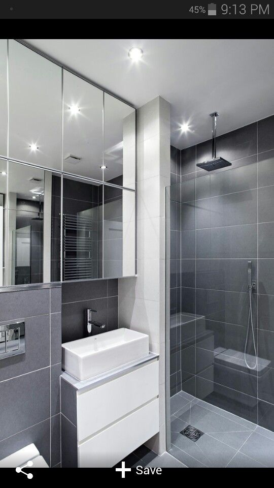 21 best Sleek Bathrooms images on Pinterest | Room, Modern ...