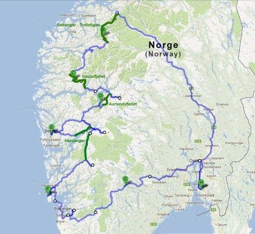 Si nous avions connu leur existence avant de partir, nous les aurions toutes faites ! Mise à part la très célèbre route de Trollstigen, les guides de voyage ne mettent pas beaucoup en valeur les routes touristiques de Norvège... Peu connues des touristes,...