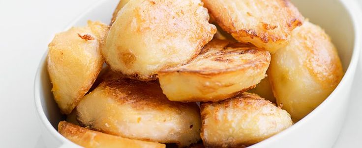 Crunchy Saffron Roast Potatoes recipe, brought to you by MiNDFOOD.