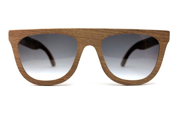 Double O Sunglasses | Sloth - 7 Deadly Sins Collection, Greek Handmade Wooden Sunglasses