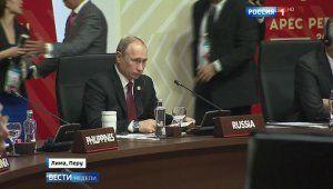 Владимир Путин и Барак Обама кратко поговорили на саммите АТЭС (видео)  21 ноября 2016